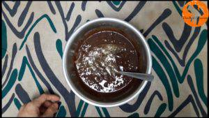Đam Mê Ẩm Thực Cho-3-lá-gelatin-đã-mềm-vào-bát-hỗn-hợp-và-trộn-đều-cho-đến-khi-hòa-tan.-300x169