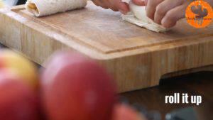Đam Mê Ẩm Thực Phết-đều-kem-Cheese-vào-lát-bánh-mì-gối6-300x169