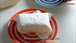 Đam Mê Ẩm Thực Bọc-đậu-trong-giấy-ăn-để-ráo-bớt-nước3
