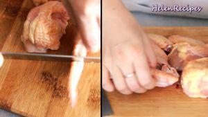 Đam Mê Ẩm Thực Cắt-cánh-gà-chỗ-khớp-thành-từng-đoạn-ngắn-rửa-sạch-và-thấm-khô2