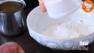 Đam Mê Ẩm Thực Cho-đường-nâu-bột-mì-đa-dụng-bột-quế-vào-bát-và-trộn-đều-1-300x169