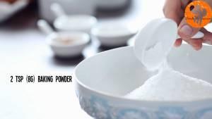 Đam Mê Ẩm Thực Cho-bột-mì-đa-dụng-dừa-nạo-nhỏ-bột-Baking-powder-bột-Baking-soda-muối-bột-quế-vào-bát-và-trộn-đều3