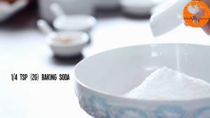 Đam Mê Ẩm Thực Cho-bột-mì-đa-dụng-dừa-nạo-nhỏ-bột-Baking-powder-bột-Baking-soda-muối-bột-quế-vào-bát-và-trộn-đều4