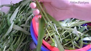 Đam Mê Ẩm Thực Chuẩn-bị-và-làm-sạch-rau-muống