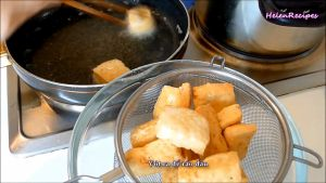 Đam Mê Ẩm Thực Khi-đậu-chín-vàng-2-mặt-cho-đậu-ra-rây-để-ráo-dầu2
