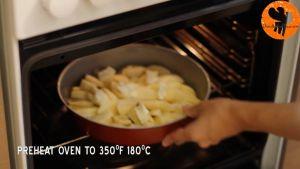 Đam Mê Ẩm Thực Sau-đó-cho-khuôn-vào-lò-nướng