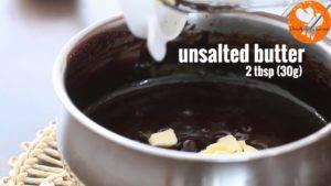 Đam Mê Ẩm Thực Thêm-2-tbsp-30g-Bơ-60g-Chocolate-chiết-suất-vani-và-khuấy-cho-đến-khi-quyện-đều-300x169