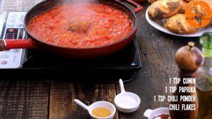 Đam Mê Ẩm Thực Thêm-bột-thì-là-bột-ớt-Paprika-ớt-bột-bột-ớt-khô-đường-muối-hạt-tiêu-và-đảo-đều-trong-10-15-phút5