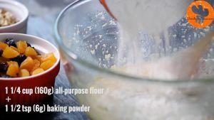 Đam Mê Ẩm Thực Thêm-dần-dần-bột-mì-đa-dụng-bột-Baking-powder-và-trộn-cho-đến-khi-quyện-đều