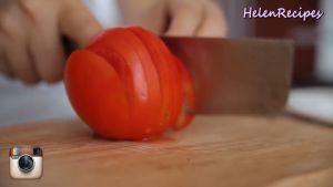 Đam Mê Ẩm Thực 2-quả-Cà-chua-cắt-hạt-lựu-và-băm-nhỏ-2-nhánh-tỏi