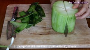 Đam Mê Ẩm Thực Bí-đao-gọt-vỏ-bổ-làm-6-quả-to-bổ-làm-8-bỏ-ruột3