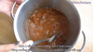 Đam Mê Ẩm Thực Cho-100g-Me-chua-2-cup-Nước-vào-nồi.-Khuấy-đều-và-đun-sôi2