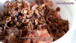 Đam Mê Ẩm Thực Cho-200g-Thịt-heo-băm-1-tbsp-Hành-tím-băm-nhỏ-12-cup-Mộc-nhĩ-nấu-mèo2
