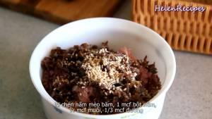 Đam Mê Ẩm Thực Cho-200g-Thịt-heo-băm-1-tbsp-Hành-tím-băm-nhỏ-12-cup-Mộc-nhĩ-nấu-mèo3