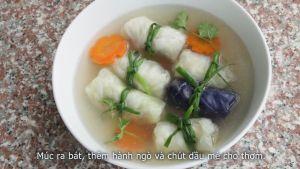 Đam Mê Ẩm Thực Cho-bắp-cải-cuốn-thịt-lát-cà-rốt-chín-ra-bát-và-thêm-chút-rau-mùi-hoặc-dầu-mè-không-bắt-buộc-cho-thơm2