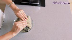 Đam Mê Ẩm Thực Cho-cơm-vừa-trộn-đều-vào-lá-Sen.-Gói-lại-và-hấp-trong-10-phút10