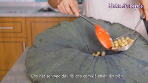 Đam Mê Ẩm Thực Cho-cơm-vừa-trộn-đều-vào-lá-Sen.-Gói-lại-và-hấp-trong-10-phút3
