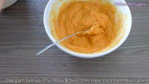 Đam Mê Ẩm Thực Cho-chút-muối-hạt-tiêu-1-tbsp-nước-cốt-chanh-dầu-sa-tế-và-bát-gạch-tôm.-Trộn-và-ướp-đều6