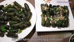 Đam Mê Ẩm Thực Cho-ra-đĩa-rắc-mỡ-hành-và-đậu-phộng-giã-lên-và-hoàn-thành3