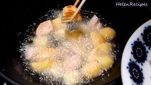 Đam Mê Ẩm Thực Khi-khoai-chín-vàng-cho-khoai-ra-đĩa