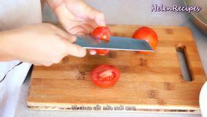 Đam Mê Ẩm Thực Loại-bỏ-núm-Cà-chua-và-chia-làm-12-phần
