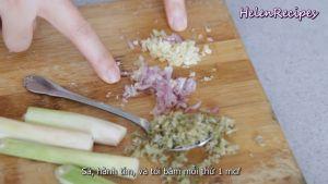 Đam Mê Ẩm Thực Loại-bỏ-vỏ-100g-Bí-đỏ-100g-Khoai-lang-cắt-khối-vuông-vừa-ăn-và-ngâm-nước-muối-cho-đỡ-thâm