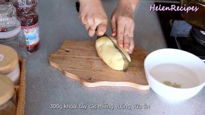Đam Mê Ẩm Thực Loại-bỏ-vỏ-cắt-300g-Khoai-tây-miếng-vuông-vừa-ăn-và-ngâm-trong-nước-muối-loại-bỏ-chất-không-tốt-cho-sức-khỏe-và-đỡ-bị-thâm
