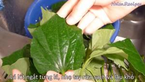 Đam Mê Ẩm Thực Ngắt-từng-lá-nhẹ-tay-rửa-sạch-Lá-Lốt-và-thấm-khô