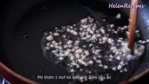Đam Mê Ẩm Thực Phi-thơm-1-tsp-Tỏi-băm-với-2-tbsp-Dầu-ăn-nóng-trong-chảo-đun-với-lửa-vừa2