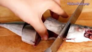 Đam Mê Ẩm Thực Rửa-sạch-250g-Cá-nục-và-cắt-khúc-vừa-ăn3