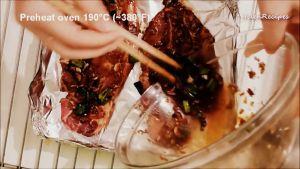 Đam Mê Ẩm Thực Sau-2-giờ-lấy-thịt-ra-khay-lót-sẵn-giấy-bạc-và-nướng-trong-15-phút-ở-nhiệt-độ-190C-hoặc-nướng-nhỏ-lửa-trên-than-hoa-hoặc-chiên-trên-chảo3