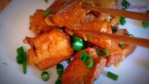Đam Mê Ẩm Thực Sau-khi-nước-thịt-sệt-lại-cho-sườn-ra-đĩa-và-rắc-thêm-tiêu