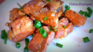 Đam Mê Ẩm Thực Sau-khi-nước-thịt-sệt-lại-cho-sườn-ra-đĩa-và-rắc-thêm-tiêu2