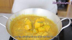 Đam Mê Ẩm Thực Sau-khi-sôi-cho-bí-đỏ-1-tsp-Muối-2-tsp-Đường-và-đảo-đều.-Hầm-trong-20-phút-cho-đến-khi-khoai-và-bí-đỏ-mềm2