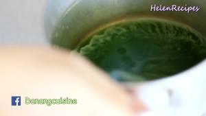 Đam Mê Ẩm Thực Sau-khi-xay-nhuyễn-lọc-qua-rây-và-lấy-phần-nước-xanh3