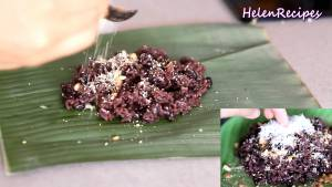 Đam Mê Ẩm Thực Thêm-muối-vừng-dừa-nạo-sợi-và-hoàn-thành