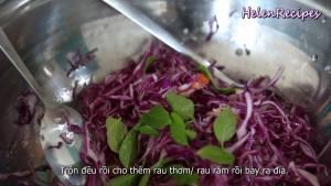 Đam Mê Ẩm Thực Thêm-rau-răm-và-trộn-đều-rồi-bày-ra-đĩa