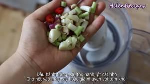 Đam Mê Ẩm Thực u-hành-trắng-Sả-Tỏi-Hành-Ớt-thái-nhỏ-và-cho-vào-máy-xay-với-tôm-hoặc-giã-nhuyễn5-dammeamthuc.com_
