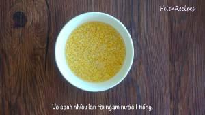 Đam Mê Ẩm Thực 100g-Đậu-xanh-không-vỏ-vo-sạch-nhiều-lần-dammeamthuc.com_