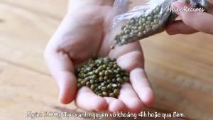 Đam Mê Ẩm Thực 200g-Đậu-xanh-nguyên-vỏ-ngâm-nước-trong-4-tiếng-dammeamthuc.com_
