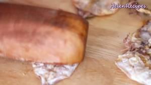Đam Mê Ẩm Thực 200g-Mực-khô-cỡ-nửa-bàn-tay-kẹp-trong-vỉ-và-nướng-trên-bếp-ga-hoặc-cồn3