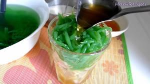 Đam Mê Ẩm Thực Cho-đá-viên-bánh-lọt-Nước-đường-tùy-khẩu-vị-Nước-cốt-dừa-và-cốc-và-hoàn-thành2-dammeamthuc.com_