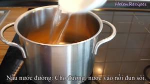 Đam Mê Ẩm Thực Cho-1-cup-Đường-Nâu-12-cup-Nước-120ml-vào-nồi2-dammeamthuc.com_