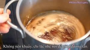 Đam Mê Ẩm Thực Cho-1-cup-Đường-Nâu-12-cup-Nước-120ml-vào-nồi3-dammeamthuc.com_