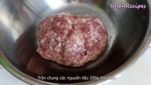 Đam Mê Ẩm Thực Cho-200g-Thịt-heo-băm-12-cup-Cà-rốt-bào-sợi-dammeamthuc.com_