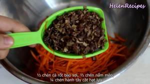 Đam Mê Ẩm Thực Cho-200g-Thịt-heo-băm-12-cup-Cà-rốt-bào-sợi3-dammeamthuc.com_