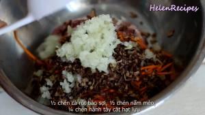 Đam Mê Ẩm Thực Cho-200g-Thịt-heo-băm-12-cup-Cà-rốt-bào-sợi4-dammeamthuc.com_