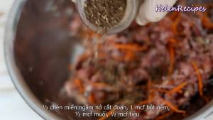Đam Mê Ẩm Thực Cho-200g-Thịt-heo-băm-12-cup-Cà-rốt-bào-sợi6-dammeamthuc.com_