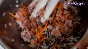 Đam Mê Ẩm Thực Cho-200g-Thịt-heo-băm-12-cup-Cà-rốt-bào-sợi7-dammeamthuc.com_