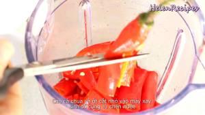 Đam Mê Ẩm Thực Cho-Cà-chua-cắt-nhỏ-Ớt-cắt-nhỏ-12-cup-Nước-vào-máy-và-xay-nhuyễn2-dammeamthuc.com_